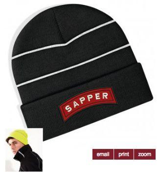 Sapper Embroidered Beanie